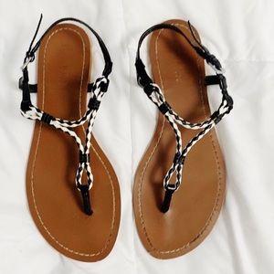 Lauren Ralph Lauren Alexa Braided Thong Sandals